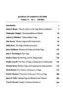 Journal of Vai      ava Studies