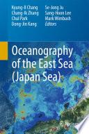 Oceanography of the East Sea  Japan Sea