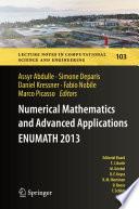 Numerical Mathematics and Advanced Applications   ENUMATH 2013