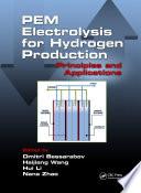 PEM Electrolysis for Hydrogen Production