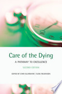 Care Of The Dying Book PDF