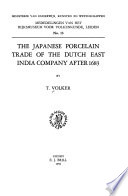 The Japanese Porcelain Trade of the Dutch East India Company After 1683