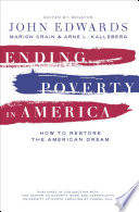 Ending Poverty in America Book PDF