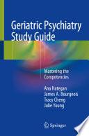 Geriatric Psychiatry Study Guide