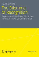 Pdf The Dilemma of Recognition Telecharger