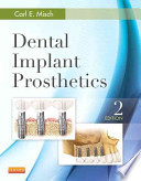 Dental Implant Prosthetics Pageburst E-book on Vitalsource Retail Access Card