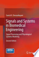 Signals and Systems in Biomedical Engineering Book