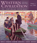 Western Civilization Since 1560