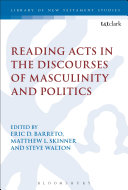 Pdf Reading Acts in the Discourses of Masculinity and Politics Telecharger