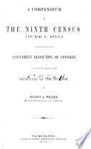 A Compendium of the Ninth Census (June 1, 1870)