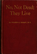 No  Not Dead  They Live