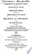 Selection of Pieces in Prose and Verse, for the Improvement of Youth in Reading and Speaking