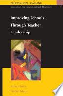 Ebook Improving Schools Through Teacher Leadership