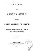 Letters of Martha Smith