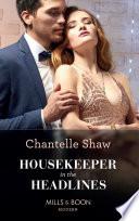 Housekeeper In The Headlines  Mills   Boon Modern