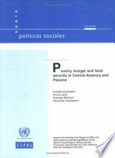 Poverty Hunger And Food Security In Central America And Panama
