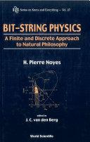 Bit String Physics