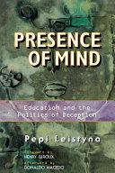 Presence Of Mind Pdf/ePub eBook