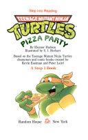 Teenage Mutant Ninja Turtles Pizza Party