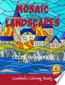 Mosaic Landscapes Color by Numbers