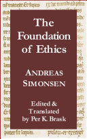 The Foundation of Ethics