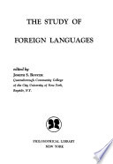 The study of foreign languages