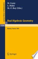Real Algebraic Geometry
