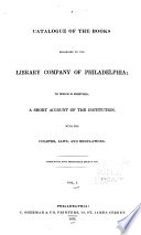 A Catalogue of the Books Belonging to the Library Company of Philadelphia  Religion