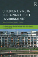 Pdf Children Living in Sustainable Built Environments