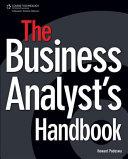 The Business Analyst S Handbook Book PDF