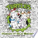 Kickin' It Old School Coloring Book (Teenage Mutant Ninja Turtles)