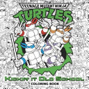 Kickin' It Old School Coloring Book (Teenage Mutant Ninja Turtles)
