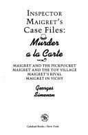 Inspector Maigret's Case Files Murder
