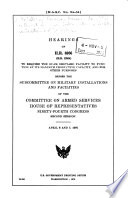 Hearings on H R  6986  H R  12984  to Require the Guam Shipyard Facility to Function at Its Maximum Productive Capacity  and for Other Purposes  Before the Subcommittee on Military Installations and Facilities of the Committee on Armed Services  House of Representatives  Ninety fourth Congress  Second Session  April 6 and 7  1976