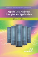 Applied Data Analytics   Principles and Applications