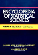 Encyclopedia Of Statistical Sciences  Icing The Tails To Limit Theorems