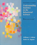 Study Guide to Accompany Understanding Statistics in the Behavioral Sciences
