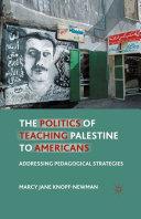 The Politics of Teaching Palestine to Americans Pdf/ePub eBook
