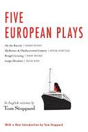 Five European plays