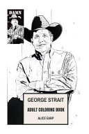 George Strait Adult Coloring Book banner backdrop