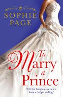 To Marry a Prince [Pdf/ePub] eBook