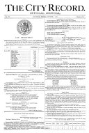The City Record