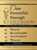 Affirm: I Am Powerful Enough [Pdf/ePub] eBook