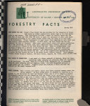 Forestry Facts Book