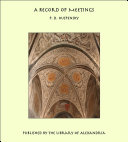 A Record of Meetings