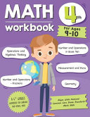Math Workbook Grade 4  Ages 9 10  Book