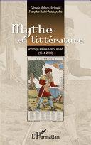 Pdf Mythe et littérature Telecharger
