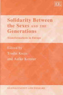 Solidarity Between the Sexes and the Generations