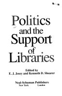 Politics and the Support of Libraries