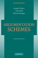 Argumentation Schemes